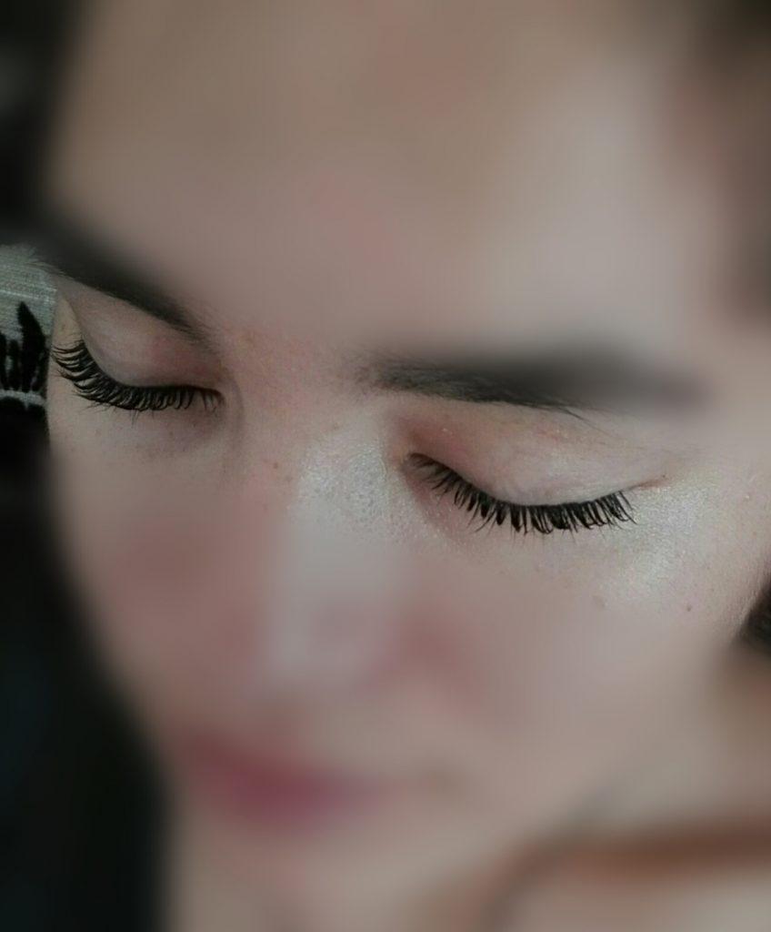 eyelash lifting - trvala na riasy